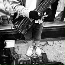Busking on the streets