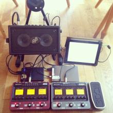 Busking setup